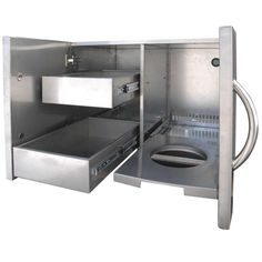 Outdoor Kitchen Stainless Doors And Drawers