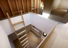 ladder access between level