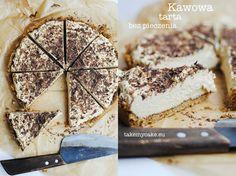 Kawowa tarta bez pieczenia Tiramisu, Rum, Camembert Cheese, Food To Make, Sweets, Cake, Ethnic Recipes, Sweet Pastries, Pie Cake