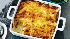 Cheesy potato bake - December 07 2018 at - Amazing Ideas - and Inspiration - Yummy Recipes - Paradise - - Vegan Vegetarian And Delicious Nutritious Meals - Weighloss Motivation - Healthy Lifestyle Choices Potato Dishes, Potato Recipes, Vegetable Recipes, Vegetable Dishes, Cheesy Potato Bake, Cheesy Potatoes, Boil Potatoes, Potato Pie, Baked Potato