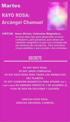 Chamuel. Rayo rosa