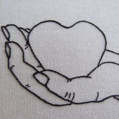 "Hoop Art ""Heart in Hand"" • Embroidered Hand on Floral Fabric • Embroidery Wall Hanging / Home Decor / Pin Display by loudmouthmarket on Etsy https://www.etsy.com/listing/462508792/hoop-art-heart-in-hand-embroidered-hand"