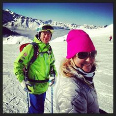 Warren Smith and Lola - Love skiing, LOVED Verbier