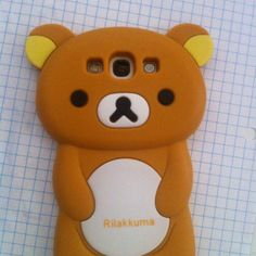 Rilakkuma Samsung Galaxy s3 Rubber Fashion Case Be super kawaii可愛 with this Rilakkuma Samsung Galaxy S3 Rubber Fashion Case. Originally bought for $18. Yours for just $10! This cute case won't get dirty or stained because it is a durable rubber. It has all of the appropriate holes: Mic, Charger, Headphone, Camera, Speaker, and Flash; as well as elevated buttons for your lock button and volume control button. Keep your galaxy safe in this kawaii kkuma case! **NO TRADES NO LOWBALLERS…