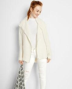 Express hooded sweater coat - 50% off Black Friday