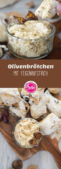 Die Olivenbrötchen werden aus einem einfachen Hefeteig hergestellt, der nicht g… The olive rolls are made from a simple yeast dough that is not kneaded but only stirred together. The preparation is totally easy. Pain Aux Olives, Fig Spread, Snacks Für Party, Le Diner, Vegan Cake, Macaron, Cakes And More, Yummy Snacks, Pizza Recipes