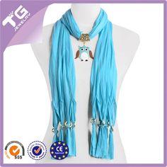 Mais recente jóia da coruja pingente lenço, charme lenço bonito-Outros Cachecóis & Xales-ID do produto:60002701947-portuguese.alibaba.com