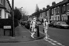 Suburban stormtroopers