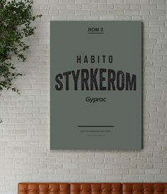 Habito styrkerom poster design | Breakfast.no