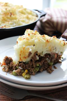 Skillet Shepherd's pie is a great way to enjoy the classic in a one pot: with a beefy base, cheesy middle and topped with a layer of fluffy ...