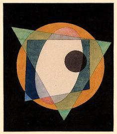 Russian Avant Garde artist Kliunka, Иван Клюнков (Клюн) «Без названия» 1917 г.