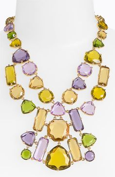 kate spade new york 'desert stone' statement bib necklace available at Nordstrom
