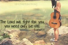 He DID fight for me. I prayed and believed and He gave me the desires of my heart. :)
