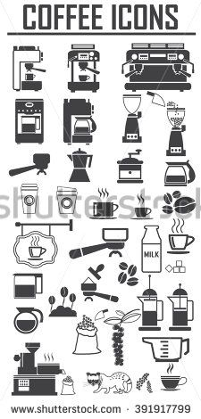 Image result for coffee roaster machine icons
