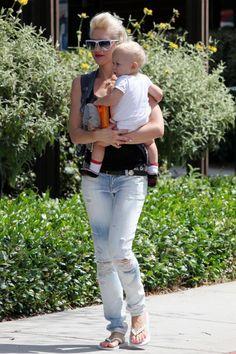 Gwen Stefani takes son Zuma to Bristol Farms in Beverly Hills