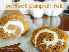 Perfect pumpkin roll and 28 delicious pumpkin recipes Pumpkin Recipes, Fall Recipes, Sweet Recipes, Holiday Recipes, Simple Recipes, Unique Recipes, Yummy Recipes, Holiday Ideas, Keto Recipes