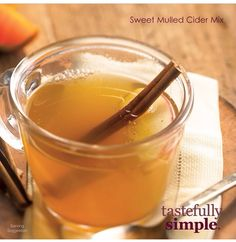 Tastefully Simple Fall-Winter 2014 Sweet Mulled Cider Mix www.tastefullysimple.com/web/tedmonds1