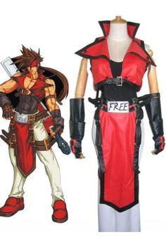 Guilty Gear Sol Badguy Halloween Costumes Cosplay