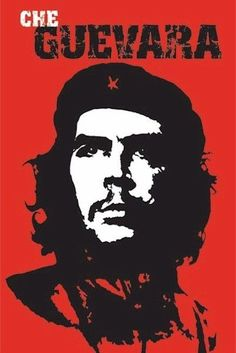 665d9fe2d02975  6.95 - Che Guevara Red Portrait 24X34 Poster Victory Always Cuba Rolled!   ebay