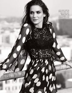Winona Ryder in Dolce & Gabbana for Red Magazine Feature by Max Abadian