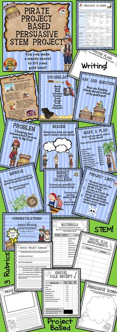 This Project Based Learning idea was a hit with my elementary students! They loved diving in to this project's STEM challenges! The PBL activities were inquiry based and extremely engaging. A great way to jump start science in your Century classroom! Problem Based Learning, Inquiry Based Learning, Project Based Learning, Stem Activities, Learning Activities, Teaching Ideas, Writing Problems, 21st Century Learning, School Fun