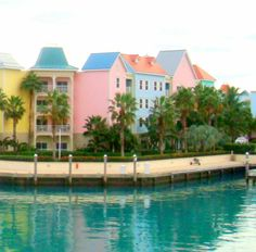 Colorful Architecture ~ Nassau, Bahamas