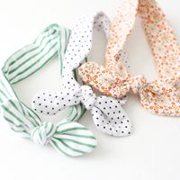 Knotted Baby Head Tie with Free Pattern!! #DIY-Crafts