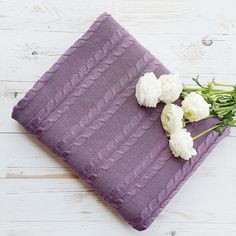 Lavender Cotton blanket