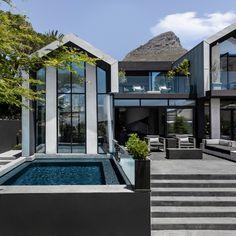 Exclusive contemporary house decor design exterior designs in kerala family south ideas wonderful general 2 Home Design Decor, House Design, Design Ideas, Zinc Cladding, Cabinet D Architecture, Outdoor Carpet, A Frame House, Construction, Sculpture