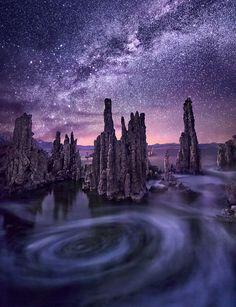 Milky Way - Mono Lake Tufa State Reserve, California