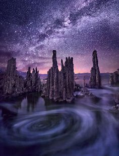 Milky Way - Mono Lake Tufa State Reserve, California