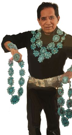 Federico Jimenez, originally from the tiny village of Tututepec, Mexico resides in Southern California where he has been collecting and making jewelry for many