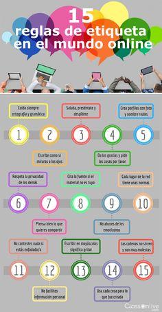 15 reglas de etiqueta en el Mundo online