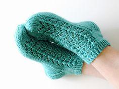 Ravelry: Midsummer socks pattern by Niina Laitinen Knitted Socks Free Pattern, Knitting Socks, Knitting Patterns, Knit Socks, Kurti Sleeves Design, Knitted Slippers, Sleeve Designs, Fingerless Gloves, Arm Warmers