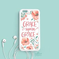 Grace upon Grace John 1:16 Bible verse by theSugarloafBoutique