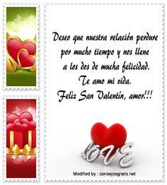 saludos del dia del amor y la amistad para compartir por Whatsapp,descargar mensajes del dia del amor y la amistad: http://www.consejosgratis.net/dedicatorias-de-san-valentin-a-novio/