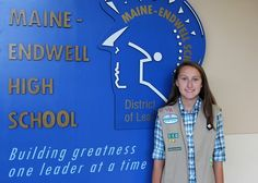 Sophomore earns her Girl Scout Silver Award!