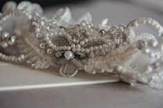 Wedding Garter Set    Ronce Made to Order by EnrichbyMillie, $79.00