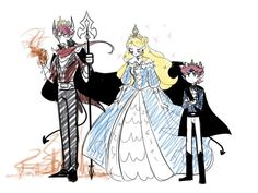 rigel lucitor star y tom Starco, Sakura Haruno, Female Characters, Anime Characters, Carla Tsukinami, Evil Anime, Star Children, Star Butterfly, Star Vs The Forces Of Evil