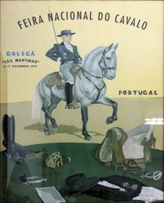 Feira Nacional do Cavalo, Golegã 1992 Portugal, Horses, Fictional Characters, Vintage Posters, Past, Fair Grounds, Paintings, Places, Pictures