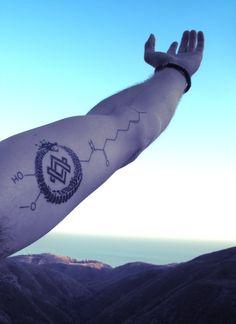 Oroboros/Benzene tatoo