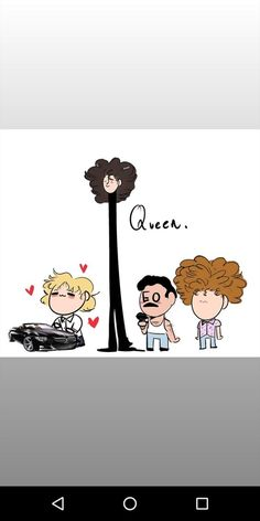 To accurately show Queen, you need Disco Deaky Queen Art, I Am A Queen, Save The Queen, Funny Face Drawings, Funny Faces, Geek Wallpaper, Freedy Mercury, Bryan May, Rainha Do Rock