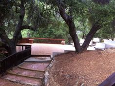 1909 ampitheater from side with trees Theatre, Deck, Trees, Outdoor Decor, Home Decor, Decoration Home, Room Decor, Theater, Tree Structure