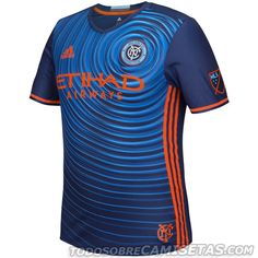 Get riled up for the next New York City FC game with this adidas Authentic jersey. Vibrant graphics put your dedication to the New York City FC on display for everyone to see. Make sure your spirit is always at its highest level with this jersey. Soccer Kits, Football Kits, New York City Fc, Jersey Atletico Madrid, Nike Free Runs, Sports Logo, Adidas Men, Sport Outfits, Soccer Cleats