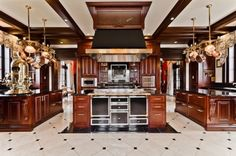 Famous Kitchens 2012 | Celine Dion's Luxe Kitchen in Montreal!!!! 'Cherie