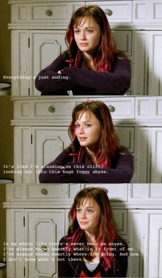 This is one of the most relatable quotes in all of Gilmore Girls, I think.