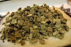 Home-made healthy bunny treats - YEP!  Smack Snacks for Rabbits