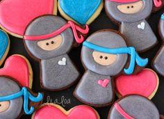 LilaLoa: Easy Ninja Cookie Tutorial