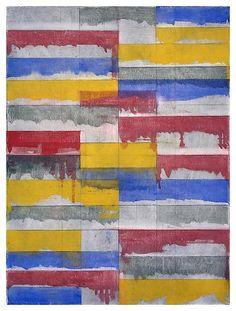 Brice Marden, Window Study #3, 1984.  Art Experience NYC  www.artexperiencenyc.com/social_login/?utm_source=pinterest_medium=pins_content=pinterest_pins_campaign=pinterest_initial