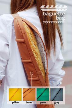 Na padoca com muito charme! Baguette bag <3